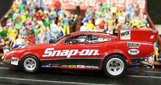 New Cruz Pedregon Snap on Tools NHRA Funny Car ho slot car 4 gear AW