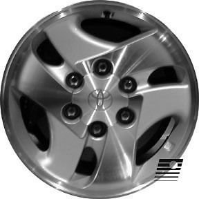Refinished Toyota Sequoia 2001 2004 16 inch Wheel, Rim