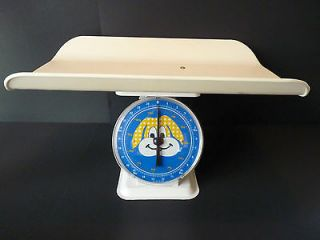 Vintage Working Baby Scale Weighs 0 12 Kg or 0 25 Lbs Good Condition