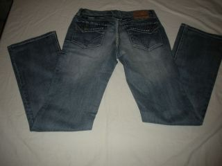 Cowgirl Up Womens Mid Rise Bootcut Light Blue Denim Jeans Size 2/27