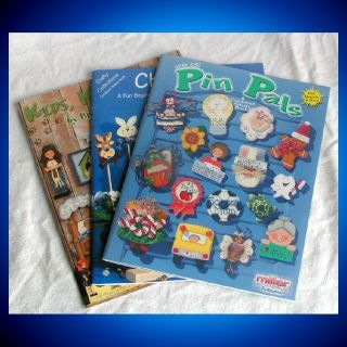 MILLER WOODCRAFT Craft Tole Paint Pattern Books KIDS