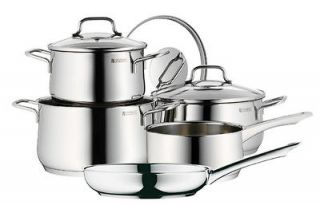 WMF Collier 8 Piece 18/10 Stainless Cookware Set