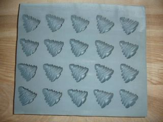 Rubber Trees Candy Mold Mint Chocolate Cream cheese