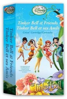 Newly listed TINKER BELL & FRIENDS Disney Cricut Cartridge