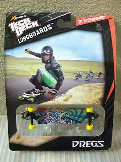 2012 Tech Deck Longboards TD Speedboard Dregs Brand NEW Design HTF
