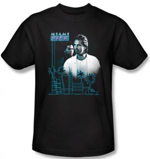 Kid Youth SIZE Miami Vice Crockett Tubbs Logo Show T shirt top tee