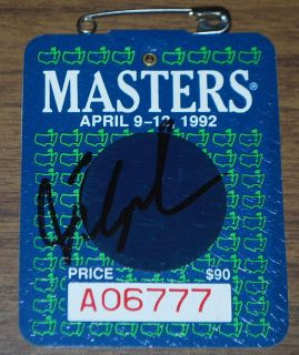 fred couples in Autographs Original