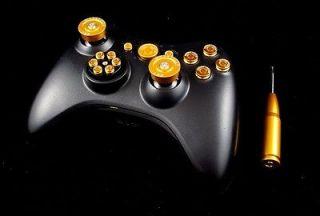 XBOX 360 Custom Controller Mods   Modsticks   Aluminium Thumbsticks