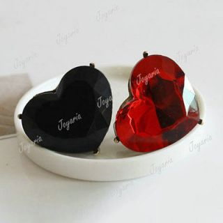 HOT Fashion Cute Lovely Heart Love Gemstone Artificial Stone