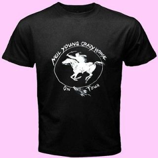Neil Young & Crazy Horse Ragged Glory AU2 New Tee T   Shirt S M L XL