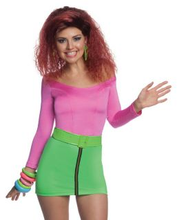 Womens Sexy Neon Katy Perry Last Friday Night Halloween Costume