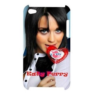 New Katy Perry Custom Apple iPod Touch 4G Case with Loly Pop
