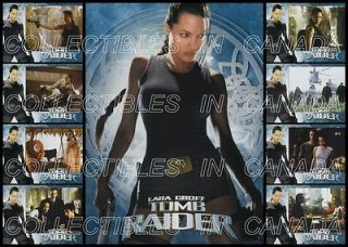 LARA CROFT  TOMB RAIDER 2001 Angelina Jolie SEXY Thigh Gun Holster 28
