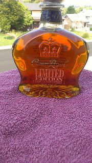 New Crown Royal Limited Edition Whisky/Whiskey