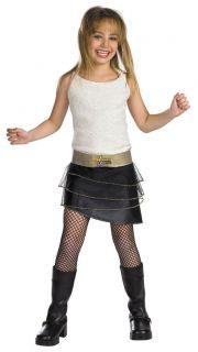 Hannah Montana Miley Cyrus Pop Star Child Costume 6671