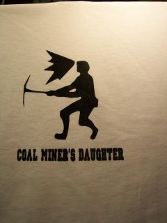 Coal Miners Wife (Miner Standing) T Shirt