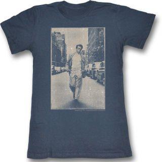New Authentic Vintage James Dean Juniors Tee Shirt in Indigo