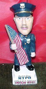 NYPD New York Police Department Bobble Head NIB