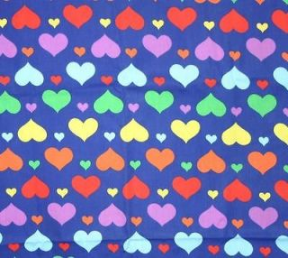 pink heart fabric in Sewing & Fabric