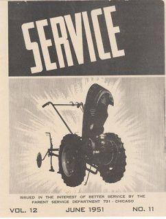 David Bradley Super Power Tractor Service Manual 917.57561