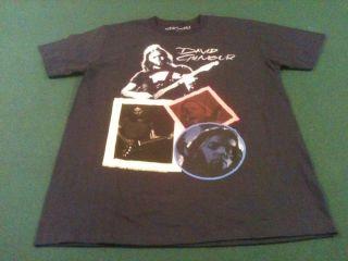 David Gilmour Black S/S Fan Shirt Size Large (UIS R)