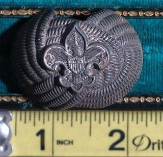 Vintage / Old Boy Scouts of America BSA Eagle Neckerchief Slide