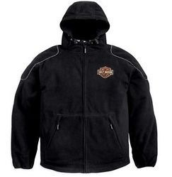 Harley Davidson Mens Bar & Shield Logo Waterproof Jacket (98335 11VM)