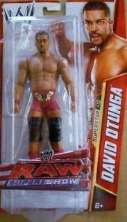 DAVID OTUNGA WWE MATTEL BASIC SERIES 25 ACTION FIGURE TOY (BRAND NEW)