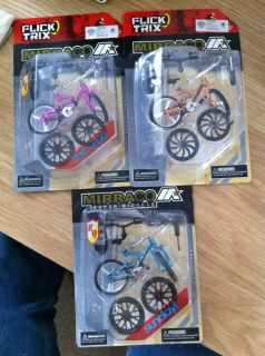 Finger Bike   Mirraco   4 Colours available   Brand New in retail