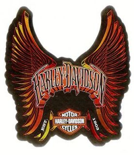 Harley Davidson Motorcycles Eagle Wings Bar & Shield Logos Decals