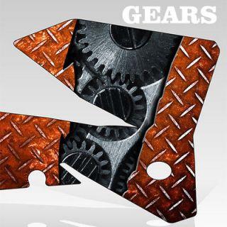 KTM 950 SM Graphics KIt Decal Sticker GEARS flag decal motocross