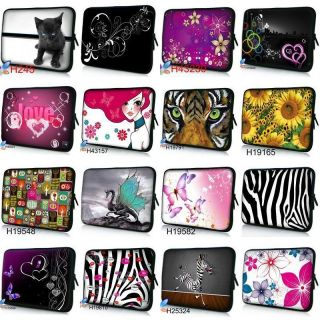 10 10.1 Cute Laptop Netbook Sleeve Soft Case Bag Cover Fr HP Mini