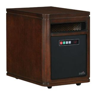 Infared Quartz Electric Portable Heater Air Purifier Dartmouth Walnut