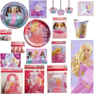 BARBIE PERENNIAL PRINCESS Birthday Party Supplies ~ Pick 1 or MANY to