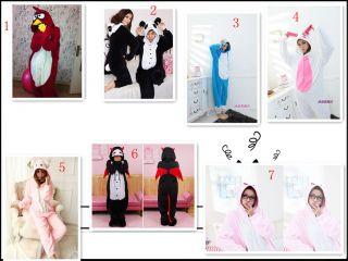 Costume KIGURUMI Pajamas Stitch Devil Doraemon Hello kitty Rabbit