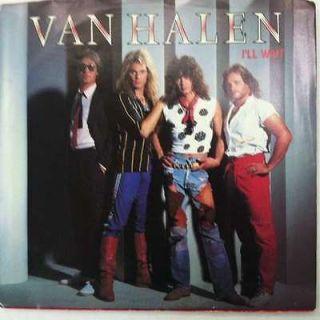 Van Halen Ill Wait 745 VG++/NM Promo