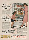 1946 VINTAGE GET BOTH COMBINED IN KELVINATOR REFRIGERATOR PRINT AD
