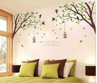Branch Tree Wall Stickers Mural Decals Decor Extra Big Mural Design