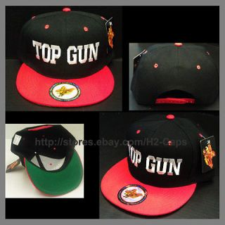 TOP GUN*** NEW SNAPBACK TOP GUN CAP HAT SNAP BACK GREEN UNDER BILL