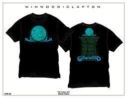 ERIC CLAPTON STEVE WINWOOD 2009 YINYANG T SHIRT XL