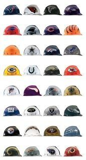 NEW Official NFL Team Hard Hats / Helmets   Choose Your Team