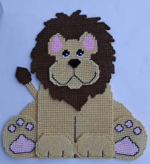 Lion in Needlepoint & Plastic Canvas