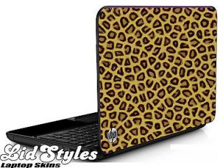 LEOPARD SPOTS Vinyl Cover Laptop Skin Decal fits HP PAVILION G6