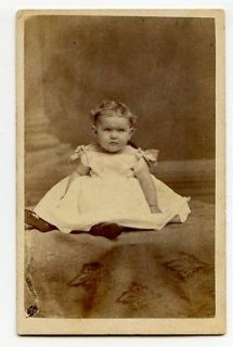 Little Girl in Boat neck Dress, G.F. Maitland , St. Catharines, ON
