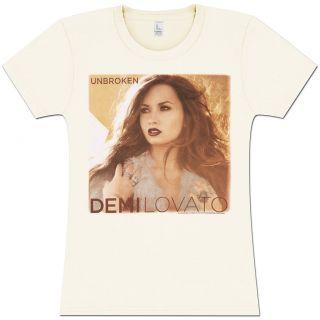 Demi Lovato Girlie T shirt for Girls Unbroken