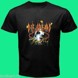Def Leppard VIVA Hysteria CD DVD Cover Tour 2013 Tee T  Shirt S M L