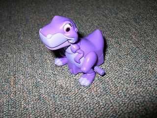 The Land Before Time Burger King Wind Up Purple Dinosaur Toy 1997