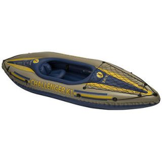 INTEX Challenger K1 Inflatable Kayak Kit with Pump 68305EP