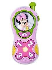 Disney Minnie Mouse Mobile Toy Phone   Light And Sound NEW