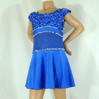 Womens Devil In A Blue Dress Dance Costume ~ Character Dress Up